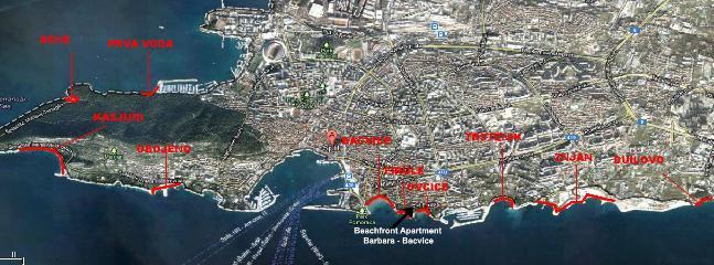 playas más populares y más limpias en Split