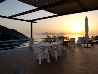 Palmarola Island view