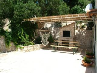 Apartman Leo with large stone terrace and sundeck