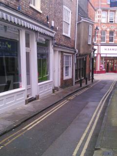 Peter Lane, centre of York