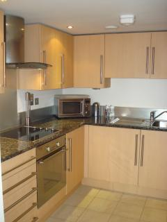 Fully equipped modern kitchen with everything you need.