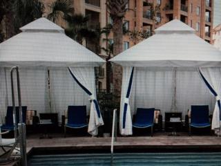 Cabanas can be Rented Pool Side for Various Property Pools
