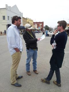 Smithville is known for making movies.  Don't be surprised to see a few directors in town on any day