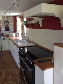 The well-appointed kitchen makes self-catering a pleasure