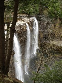 Salmon River Falls just minutes away!
