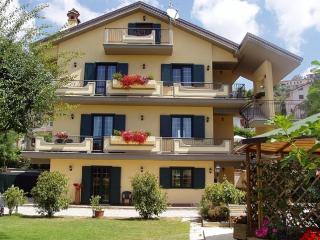 Fiuggi : Villa Marta. Splendid Second Floor Apartment in Private Villa
