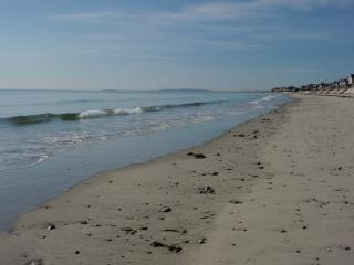 Prime ocean front location on Duxbury Beach