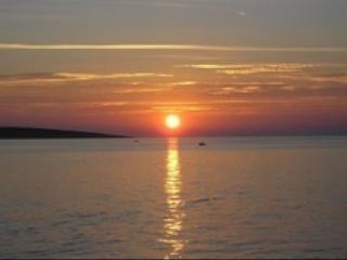 Sunset in Mandre