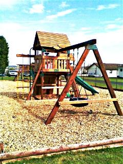 Holiday Village - outdoor play area