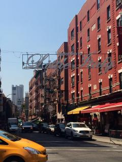 The World of the Little Italy right around the corner