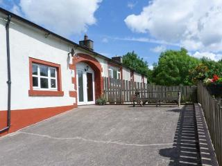 BLENG BARN COTTAGE, pet friendly, character holiday cottage, with a garden in