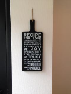 our recipe