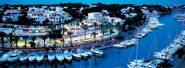 The Marina by night