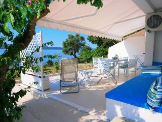 Beach apartment near to Trogir. Amazing location by the sea