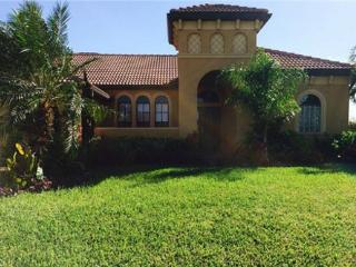 Cape Coral house faces south overlooking a canal
