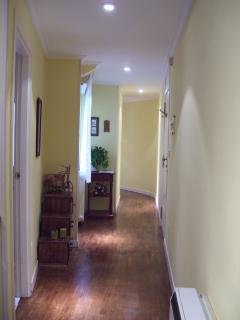 pasillo y entrada