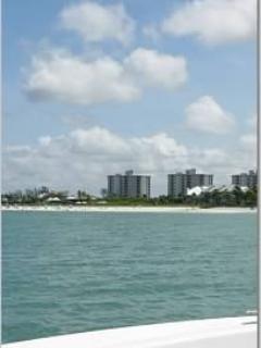Bonita Beach and Tennis from the gulf