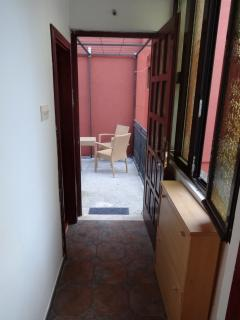 hall(entrance)to the apartment