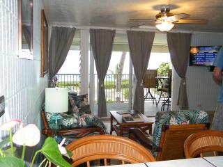 BEACHFRONT Condo- JULY $135 Special- SANDY Beach, Hauula