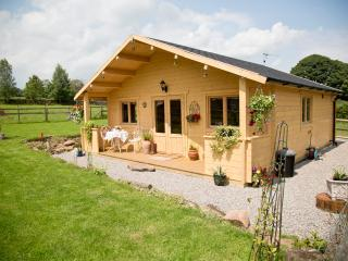 Luxury romantic logcabin located in the wye valley, Penallt