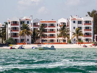 Flamingos condo by the sea, Satellite tv, Progreso