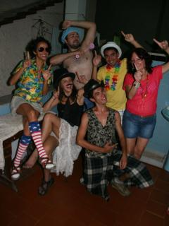 Some friends who stayed with us during the carnaval of 2013.