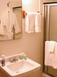 Soak in the tub with HANDMADE Bath Salts or Bath h Oil