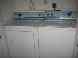 Laundry area washer/dryer