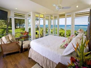 Beachfront Tropical Dream House with A/C and new amenities!, Haena