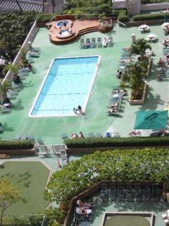 Pool area from 28 th floor