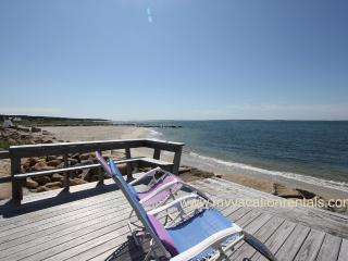 URSIV - Herring Creek Waterfront Cottage,  Private Beach Frontage, Spectacular Views, Kayak, Swim, Fish or Just Relax, Vineyard Haven