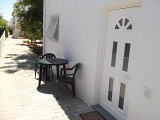Apartment entrance and exterior area