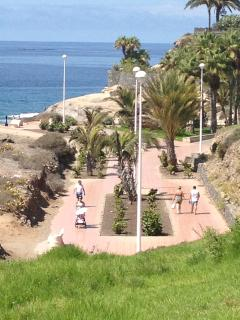 Walk to Del Duque beach, bars, shops and restaurants plenty of sea view stops on the way