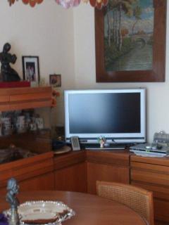 L'angolo Tv deI soggiorno