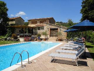 Villa with Tennis Court, Monte Santa Maria Tiberina