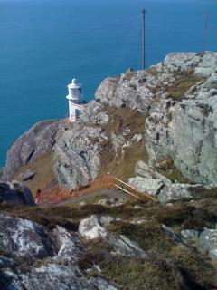 Lighthouse at the end of the Sheeps Head Peninsula