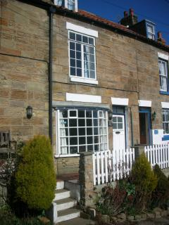 Cottage No3 with the white bay window