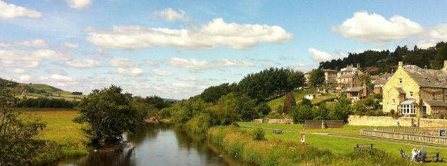The stunning riverside views & children's play area - less than a minute walk from River Ne