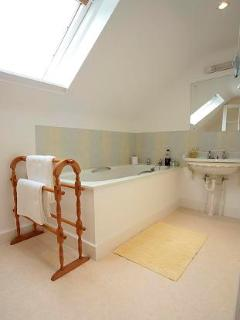 Shared Bathroom in Attic