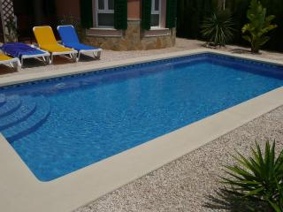 Private Pool with Roman Steps