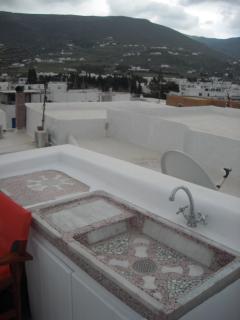 II floor - sink in the terrace