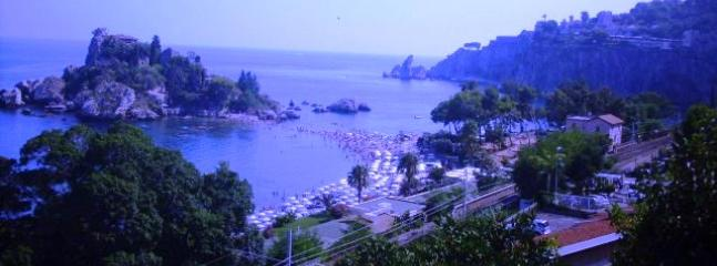 Taormina IsolaBella about km.12 from the Villa! The wonderful Taormina Vecchia is km.16 from Villa!