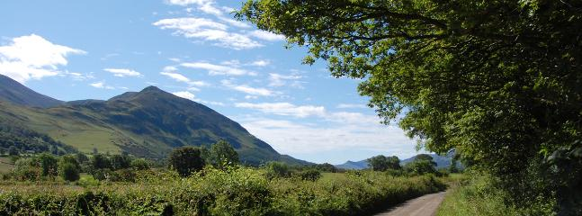 The quiet and relaxing countryside around nearby Bassenthwaite