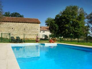 Barrusclet - Heated 12 x 6 private swimming pool. Fenced and gated to comply with french regulations
