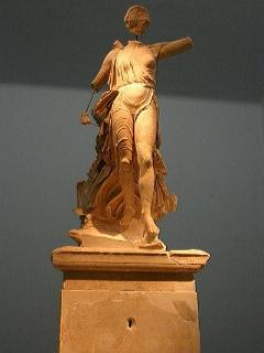 Statue from Ancient Olympia