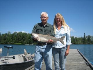 World class fishing in Nestor Falls Ontario
