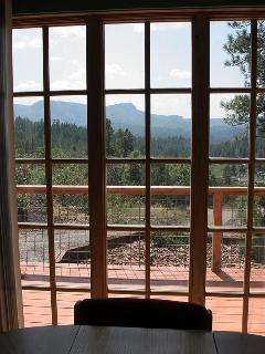 Dining room view of Broken Mountain