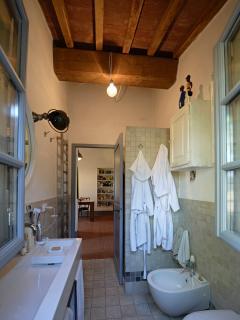 The bathroom at the ground floor