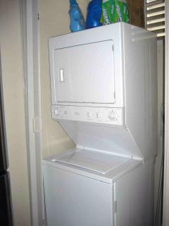 Laundry available for your use