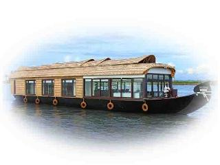 Two Bedroom A/c Luxury Houseboat Alleppey Kerala